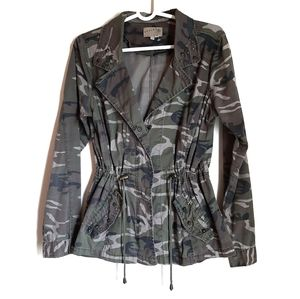 Ashley By 26 International camo jacket